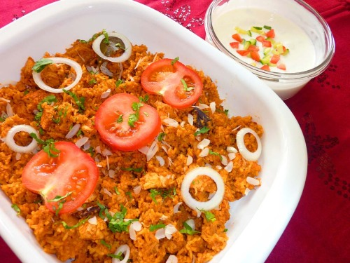 Tasty Chicken Biryani