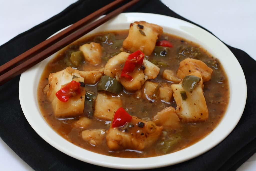 Malaysian fish recipe sejals recipe blog malaysian fish in black bean sauce forumfinder Gallery