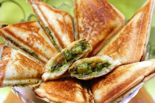 Vegetable Toasties