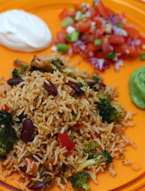 Mexican Rice (Vegetarian and Non Vegetarian Option)