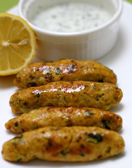 Indian Style Mini Chicken Kebab Rolls
